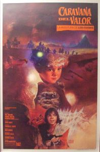"Mexican Ewok Adventure Style ""A"" Caravan of Courage One-Sheet"