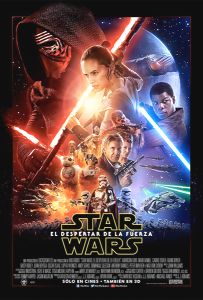 "Mexican The Force Awakens Version ""B"" One-Sheet"