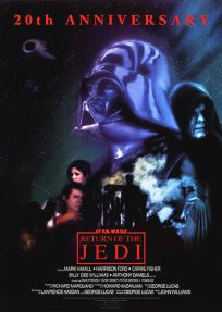 Mexican Return of the Jedi 20th Anniversary One-Sheet