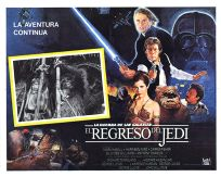 "Mexican Return of the Jedi Style ""B"" Lobby Card #1"
