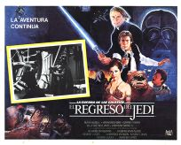 "Mexican Return of the Jedi Style ""B"" Lobby Card #2"