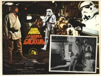 "Mexican Star Wars Style ""A"" Foreign Lobby Card #2"