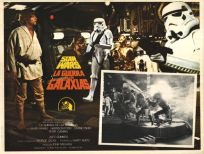 "Mexican Star Wars Style ""A"" Foreign Lobby Card #3"