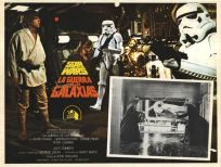 """Mexican Star Wars Style """"A"""" Foreign Lobby Card #5"""