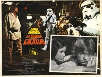 """Mexican Star Wars Style """"A"""" Foreign Lobby Card #6"""