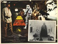 """Mexican Star Wars Style """"A"""" Foreign Lobby Card #7"""