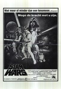 "Dutch Star Wars Style ""C"" Black / Grey One-Sheet"