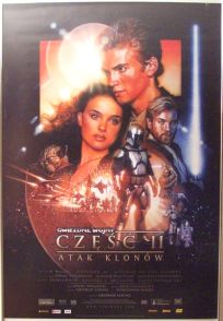 """Polish Attack of the Clones Version """"B"""" One-Sheet"""