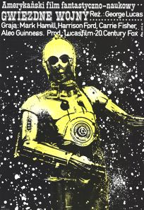 "Polish Star Wars Style ""A"" Foreign One-Sheet / B1 Size"