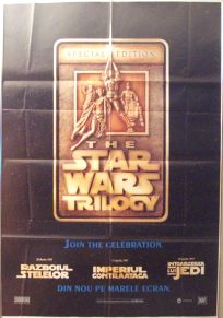 """Romanian Star Wars Special Edition Version """"A"""" Advance One-Sheet"""