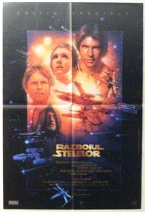 """Romanian Star Wars Special Edition Version """"B"""" One-Sheet"""