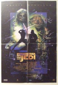 """Romanian Return of the Jedi Special Edition Version """"D"""" One-Sheet"""