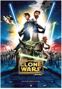 """Romanian The Clone Wars Version """"A"""" One-Sheet"""