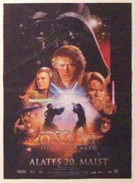 "Estonian Revenge of the Sith Version ""B"" Insert"
