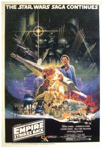 "South African Empire Strikes Back Style ""A"" Foreign One-Sheet"