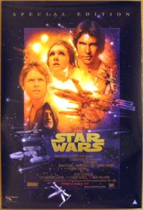 "South African Star Wars Special Edition Version ""B"" One-Sheet"