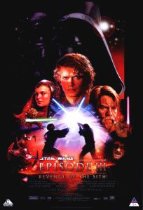 """South African Revenge of the Sith Version """"B"""" One-Sheet"""