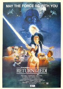 """South African Return of the Jedi Style """"B"""" Two-Sheet"""
