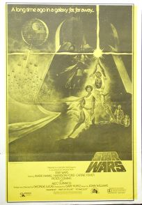 South African Star Wars '82 Re-release One-Sheet