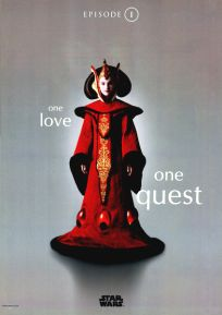 "Singapore The Phantom Menace Version ""One-Series"" Amidala One-Sheet"