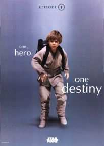 "Singapore The Phantom Menace Version ""One-Series"" Anakin One-Sheet"
