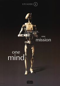 "Singapore The Phantom Menace Version ""One-Series"" Battle Droid One-Sheet"
