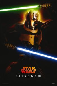 """Singapore Revenge of the Sith Version """"Characters"""" Grievous One-Sheet"""