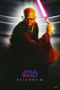 """Singapore Revenge of the Sith Version """"Characters"""" Windu One-Sheet"""