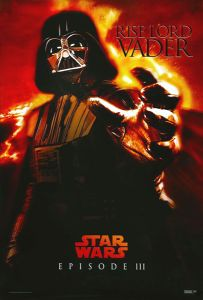 """Singapore Revenge of the Sith Version """"Characters"""" Vader One-Sheet"""