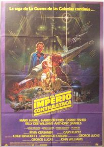 "Spanish Empire Strikes Back Style ""A"" Foreign One-Sheet"