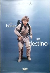 "Spanish The Phantom Menace Version ""One Series"" Anakin Bus Stop"