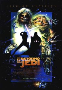 "Spanish Return of the Jedi Special Edition Version ""D"" One-Sheet"