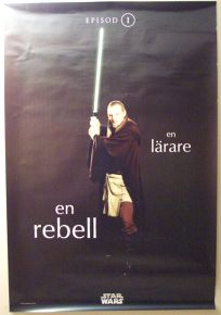 "Swedish The Phantom Menace Version ""One-Series"" Qui-gon Jinn Subway"