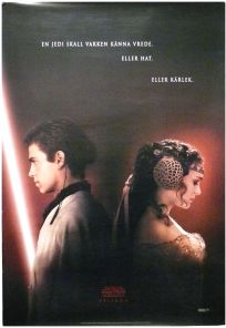 """Swedish Attack of the Clones Version """"A"""" Advance One-Sheet"""