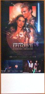 "Swedish Attack of the Clones Version ""B"" Insert"