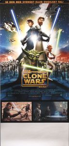 "Swedish The Clone Wars Version ""A"" Stolpe Poster"