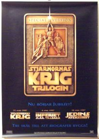 "Swedish Star Wars Special Edition Version ""A"" Advance One-Sheet"