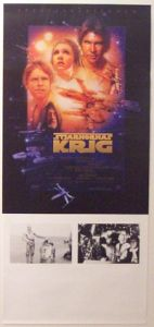 "Swedish Star Wars Special Edition Version ""B"" Insert"