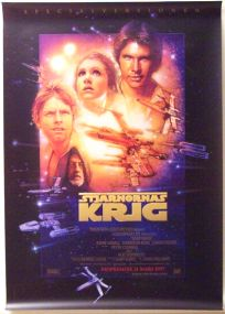 "Swedish Star Wars Special Edition Version ""B"" One-Sheet"