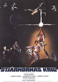 "Swedish Star Wars Style ""A"" One-Sheet"
