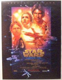 """Swiss Star Wars Special Edition Version """"B"""" French One-Sheet / A1 Size"""