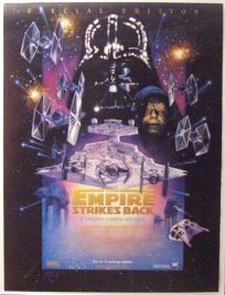 "Swiss Empire Strikes Back Special Edition Version ""C"" French One-Sheet / A1 Size"