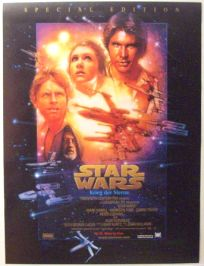 "Swiss Star Wars Special Edition Version ""B"" German One-Sheet / A1 Size"