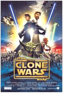 """Swiss The Clone Wars Version """"A"""" One-Sheet"""