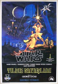 "Turkish Star Wars Style ""A"" Foreign One-Sheet"