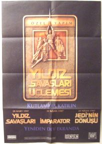 "Turkish Star Wars Special Edition Version ""A"" Advance One-Sheet"