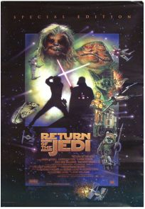 """Turkish Return of the Jedi Special Edition Version """"D"""" International One-Sheet"""