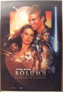 "Turkish Attack of the Clones Version ""B"" One-Sheet"