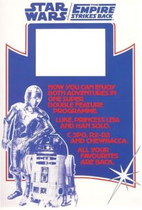 """British Star Wars / Empire Strikes Back Style """"Double Bill"""" Double Crown"""