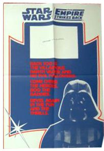"""British Star Wars / Empire Strikes Back Style """"Double Bill"""" Double Crown #2"""